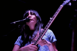 Thao of Thao and the Get Down Stay Downs performs at Underground Arts.