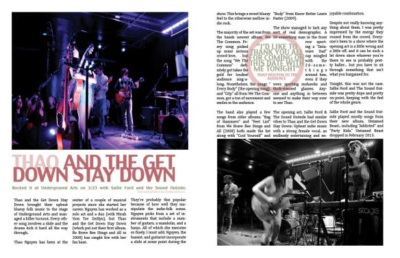 This sample magazine layout was made using Photoshop and InDesign. The article and photos were originally published on JumpPhilly.com