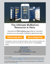 (PRODUCT) Initial launch of MJBizConApp