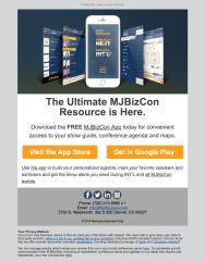(PRODUCT) Initial launch of MJBizConApp