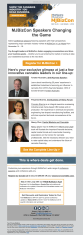 (EVENT) MJBizCon email introducing prominent speakers and conference tracks