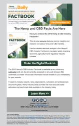 (REPORT) Factbook email announcing new hemp report