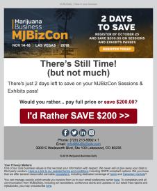 (EVENT) Final savings deadline